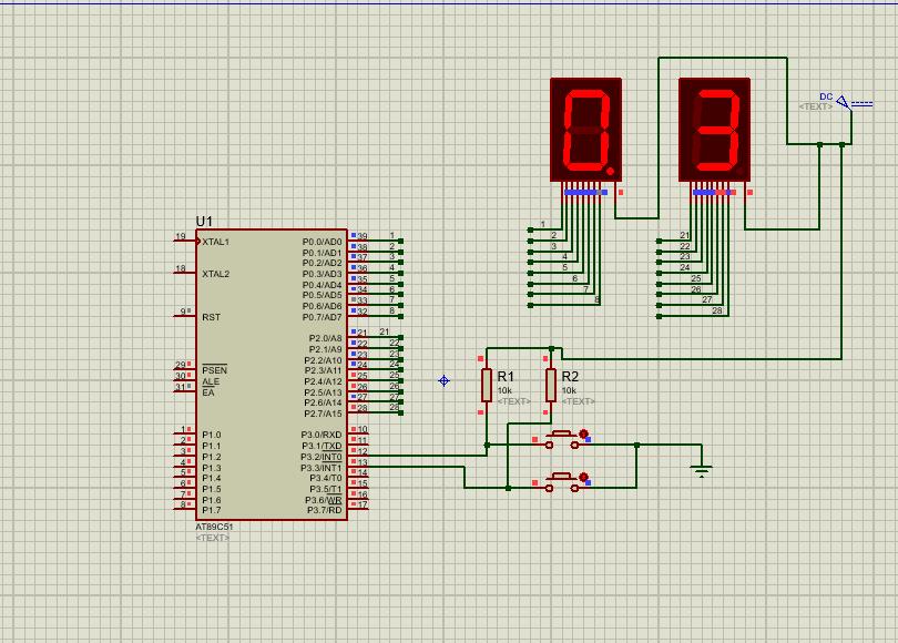 Proutes下使用51单片机实现计时器(含汇编和C语言代码)